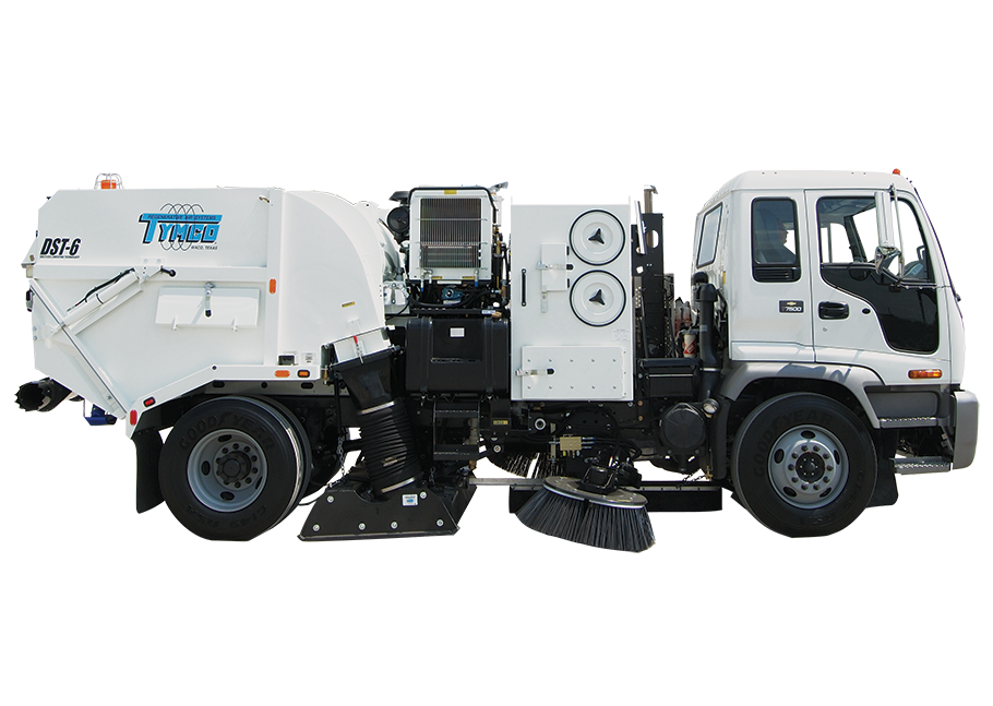 Tymco® DST 6 Street Sweeper