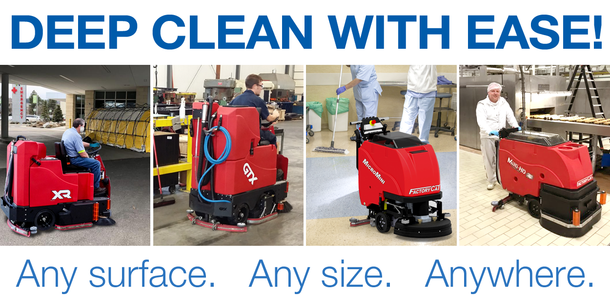 DEEP CLEAN WITH EASE! Any Surface, Any Size, Anywhere.