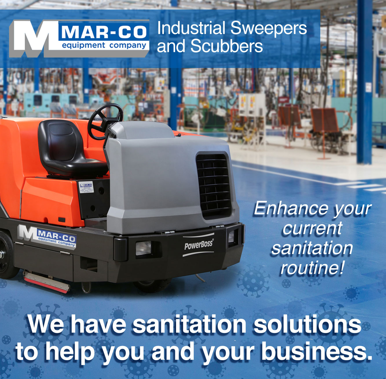 Mar-co Equipment - Warehouse Floor Cleaners